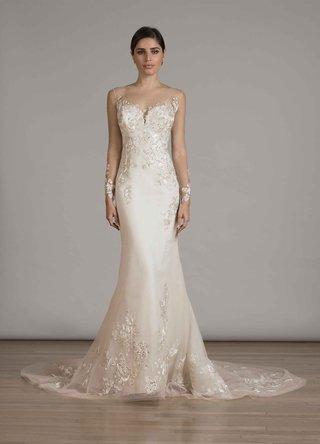liancarlo-fall-2016-mermaid-wedding-dress-with-illusion-long-sleeves