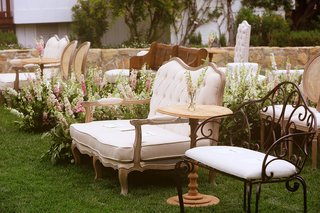 wrought-iron-benches-tufted-couches-chairs-intimate-ceremony