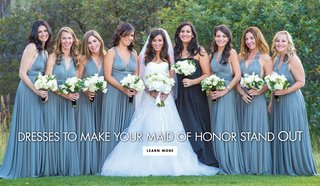 dresses-maid-of-honor-bridesmaids-stand-out-different-gowns-matched-wedding-fashion-ladies