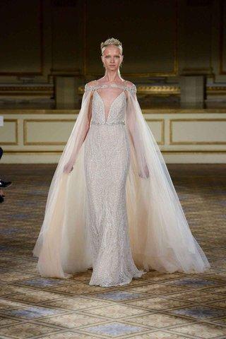 berta-fall-winter-2016-sheath-wedding-dress-with-ivory-cape