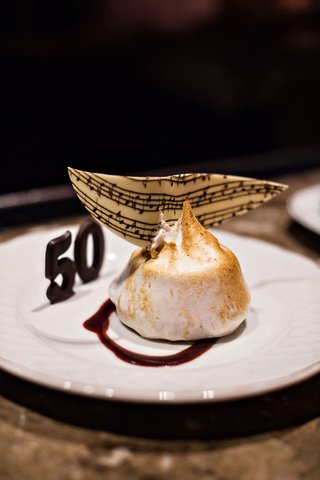 fifty-wedding-anniversary-party-desserts-chocolate-50-and-dessert-with-music-note-garnish-chocolate