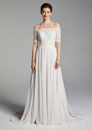 anne-barge-blue-willow-bride-spring-2019-wedding-dress-winslet-off-the-shoulder-half-sleeve-sheath