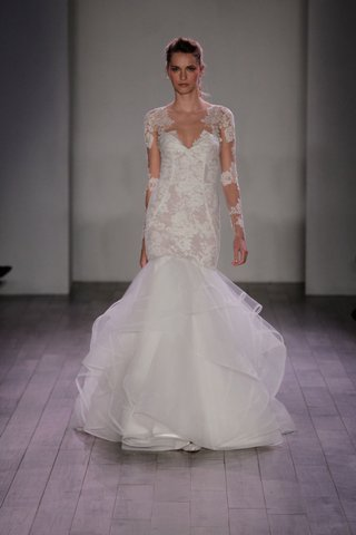 hayley-paige-2016-mermaid-wedding-dress-with-lace-bodice-and-illusion-lace-sleeves
