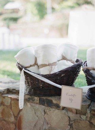 white-wedding-throw-blanket-wrapped-with-burlap-ribbon