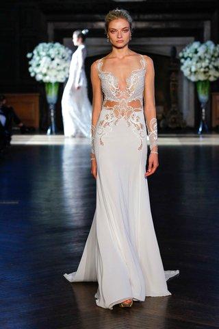 alon-livne-white-fall-2016-illusion-long-sleeve-sheath-wedding-dress