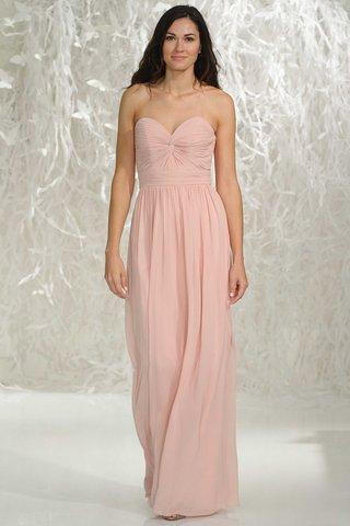 watters-bridesmaids-2016-strapless-pink-long-bridesmaid-dress