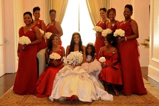porsha-williams-with-bridesmaids-and-flower-girl