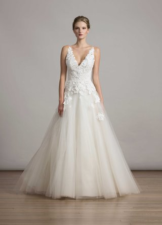 bridal-fashion-week-liancarlo-ball-gown-wedding-dress-guipure-lace-deep-v-tulle-ball-gown-skirt-6876