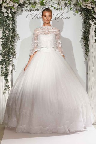 katerina-bocci-2017-bridal-collection-lola-wedding-dress-ball-gown-with-cape-over-bodice-full-skirt