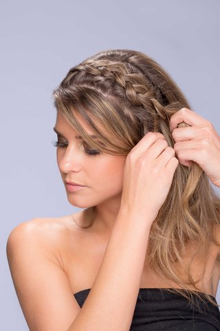 messy-side-pony-with-braid-hair-tutorial-step-number-two