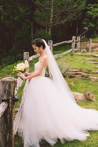 tara-keely-ball-gown-wedding-dress-on-asian-american-bride