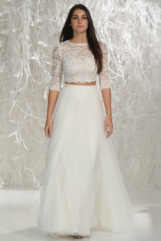 willowby-by-watters-2016-two-piece-a-line-wedding-dress-skirt-with-3-4-sleeve-lace-crop-top