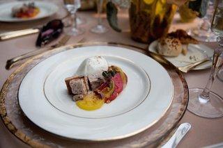 burrata-and-heirloom-tomatoes-on-fine-china-plate