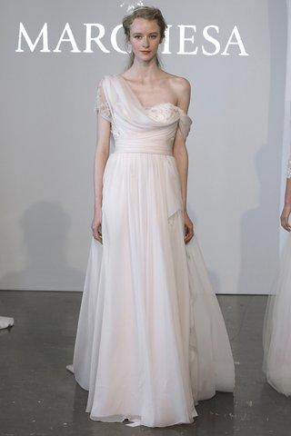 marchesa-one-shoulder-wedding-dress-by-marchesa