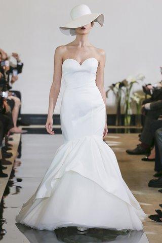 justin-alexander-spring-2018-satin-mermaid-wedding-dress-accented-apron-tulle-organza-skirt-bridal