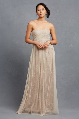 rose-strapless-cream-bridesmaid-dress-with-lace