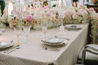 luxe-linen-cream-cleopatra-white-pink-flower-runner-mirror-menu-china