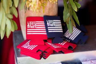 red-and-blue-flag-printed-coozies-with-couples-names-and-date