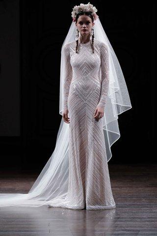 chevron-beaded-wedding-dress-by-naeem-khan-fall-2016