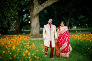 indian-bride-and-groom-in-traditional-wedding-attire