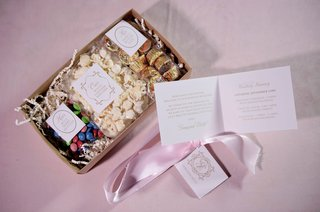 wedding-welcome-box-with-his-hers-and-ours-favorite-treats-white-cheddar-popcorn-skittles-candy