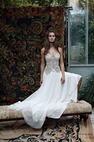 lihi-hod-2016-v-neck-spaghetti-strap-wedding-dress-with-silver-beaded-bodice