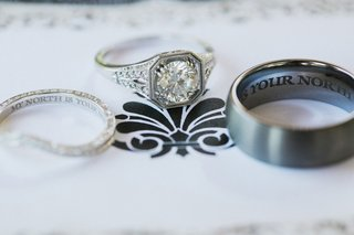 williams-jewelry-vintage-inspired-engagement-ring-engraved-wedding-bands