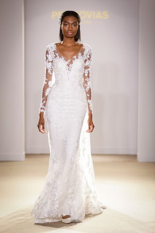 atelier-pronovias-2019-bridal-collection-wedding-dresses-long-sleeve-illusion-v-neck-gown-embroidery