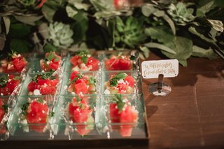 watermelon-mint-feta-salad-bites-for-cocktail-hour-with-calligraphy-sign