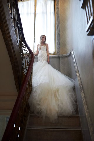 bride-in-galia-lahav-wedding-dress-from-bridal-reflections-drop-waist-trumpet-gown-tulle-skirt-long
