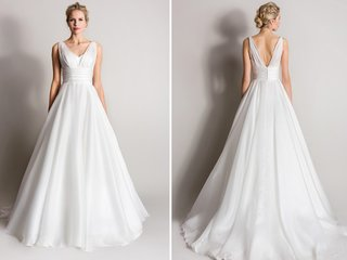 a-line-wedding-dress-with-tank-straps-by-suzanne-neville