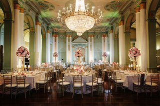 biltmore-ballrooms-wedding-reception-with-gold-chandelier
