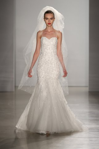 kenneth-pool-fall-2016-fit-and-flare-beaded-wedding-dress-with-spaghetti-straps