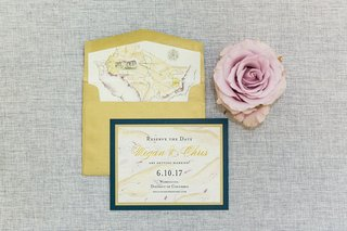 wedding-invitation-suite-reserve-the-date-card-save-the-date-gold-navy-illustration-watercolor