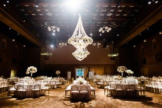 portland-art-museum-wedding-reception-with-floral-chandeliers