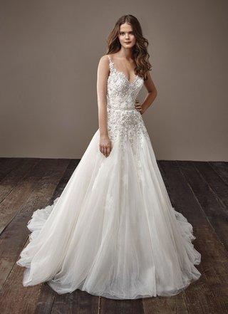 badgley-mischka-bride-2018-collection-wedding-dress-barbara-v-neck-a-line-bridal-gown-embellishement