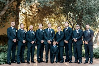 charlise-castro-and-houston-astros-mlb-player-george-springer-iii-wedding-groomsmen-ring-bearer