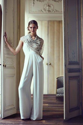 mara-jill-stuart-bhldn-jumpsuit-with-wide-leg-pants-deep-v-neck-and-shawl