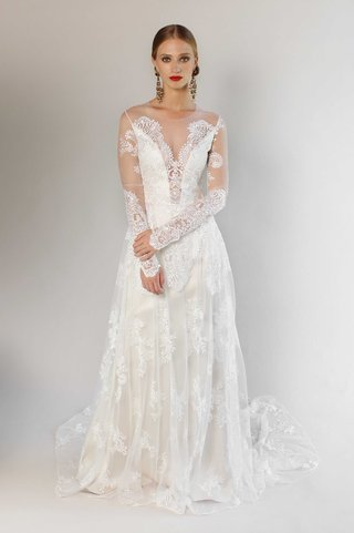 romantique-by-claire-pettibone-pasadena-long-sleeve-lace-wedding-dress-plunging-neckline-ciara-gown