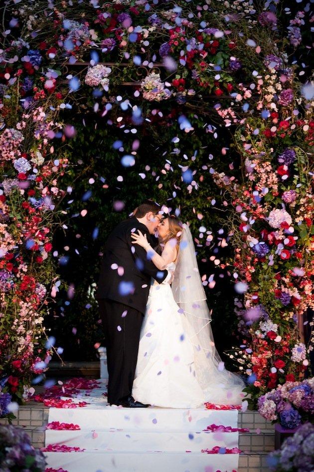 Ceremony Confetti Kiss