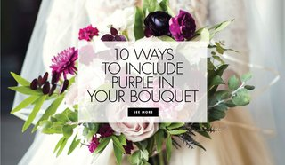 bridal-bouquets-purple-accents-real-weddings-styled-shoots-glam-lavender