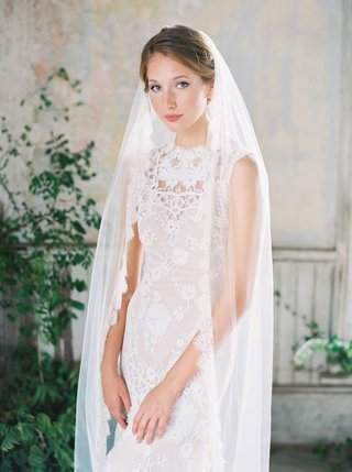 romantique-by-claire-pettibone-pretty-lace-wedding-dress-with-lace-trim-veil