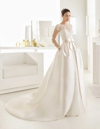 rosa-clara-bridal-olaf-wedding-dress-long-sleeve-lace-dress-illusion-mikado-open-overskirt-bow