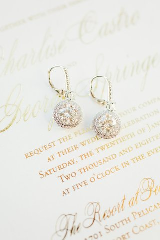 wedding-invitation-charlise-castro-and-george-springer-wedding-jewelry-earrings-diamond-round