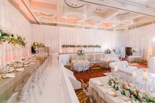 wedding-reception-with-stadium-seating-upper-level-around-room-and-lower-level-in-center