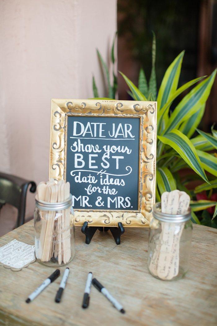 wedding guest book alternative date jar best date ideas