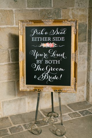 chalkboard-wedding-ceremony-seating-sign