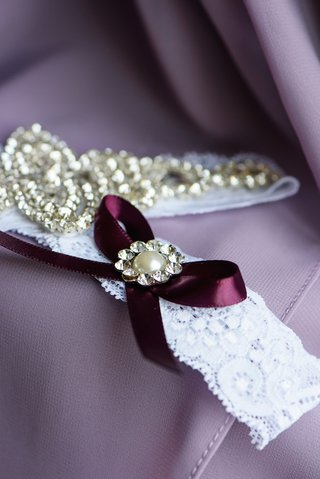 wedding-night-lingerie-with-ribbons-and-crystals