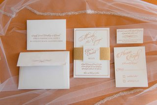 white-and-gold-peach-rose-gold-wedding-invitation-suite-vow-renewal-anniversary-party