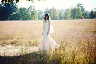 bhldn-tadashi-shoji-v-neck-wedding-dress-with-sheer-side-panels